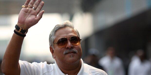 Formel-1-Teamchef in London verhaftet