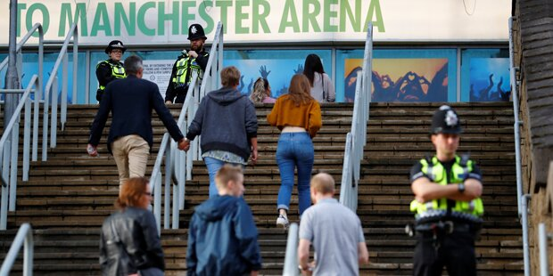 Manchester-Arena nach Anschlag wieder eröffnet