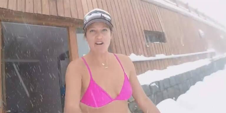 Mancuso mit heißer Bikini-Show