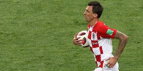 Kroatien schießt zweites Tor gegen Frankreich