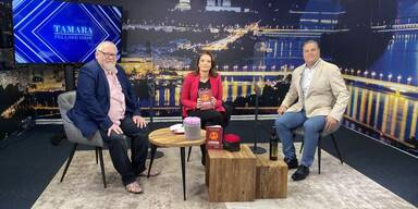 Manfred Brunner und Thomas Achs Tamara Fellner Show