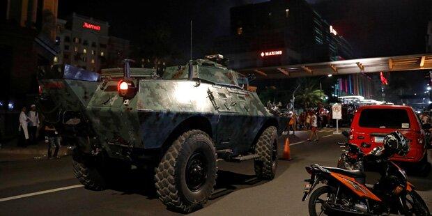 Schüsse auf Luxus-Hotel in Manila