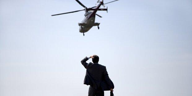 Braut stürzte mit Helikopter ab: tot