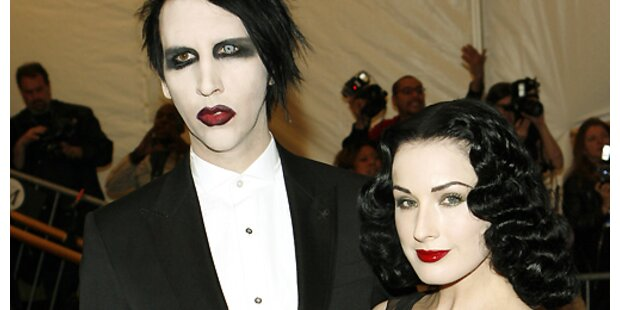 Erotikgöttin von Marilyn Manson geschieden