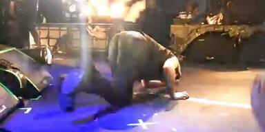 Marilyn Manson bricht auf Bühne zusammen