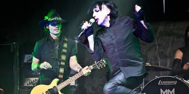 Johonny Depp und Marilyn Manson rocken