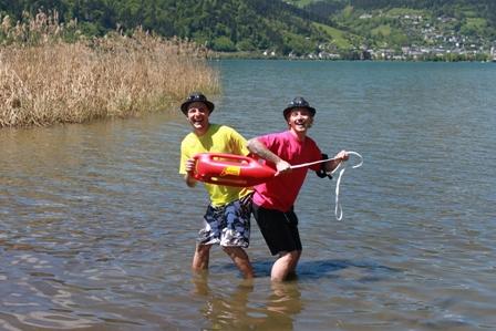 Salzburgs heißeste Bademeister