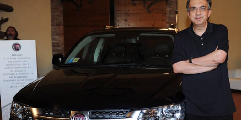 Chef will einzige Führung für Fiat und Chrysler