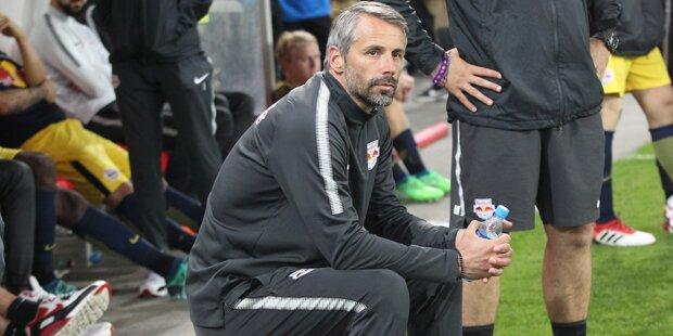 Cup-Schmerz bei Salzburg: