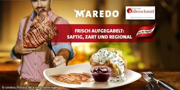 Hochwertiges Qualitätsfleisch bei Maredo
