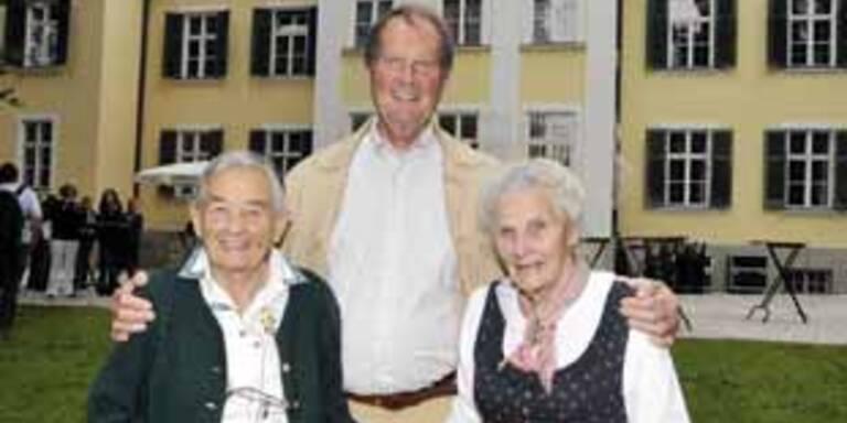 Maria von Trapp (93) besucht Salzburg
