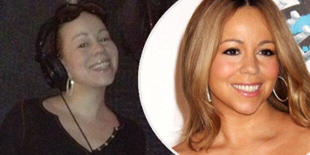 Mariah Carey: Auch ohne Make-up schön