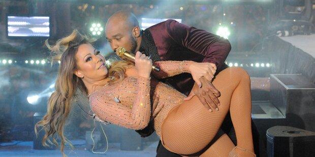 Mariah Carey versaut ihren Neujahrs-Auftritt