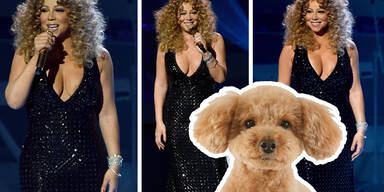 Mariah Carey im Pudel-Look