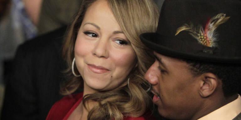 Mariah Carey Nick Cannon pünktlich Trick