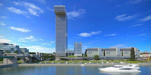 Grünes Licht für Marina Tower: 550 Wohnungen