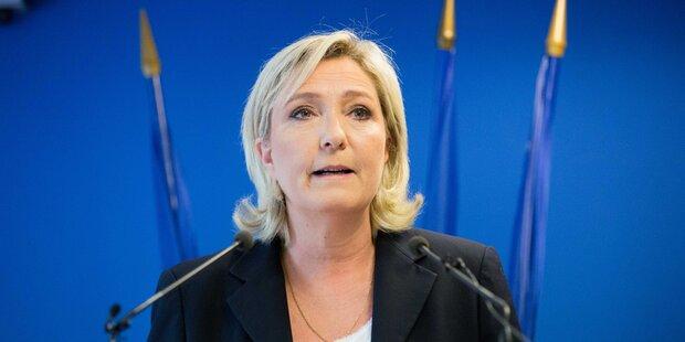 Le Pen für Trump: