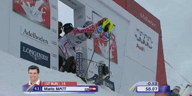 Slalom Adelboden, 2. DG, Mario Matt