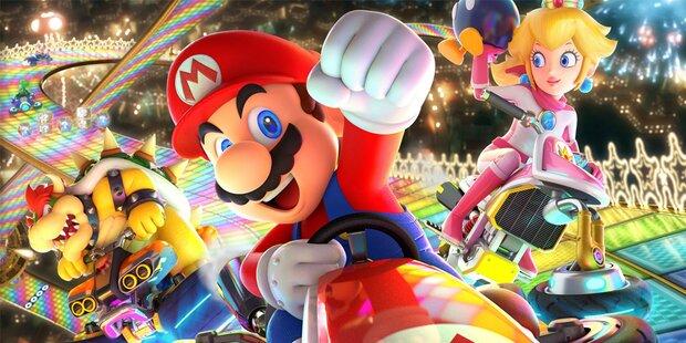 Mario Kart 8 Deluxe überzeugt mit flotten Rennspaß in HD