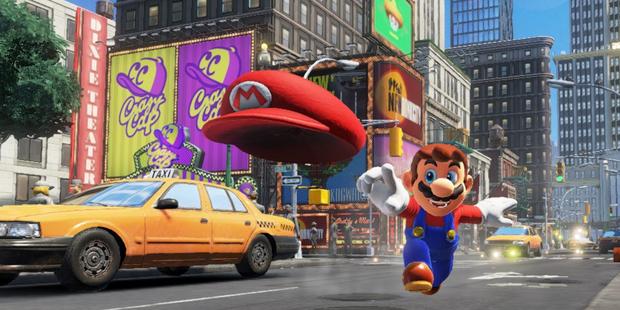 Super Mario Odyssey lässt die Hüte tanzen