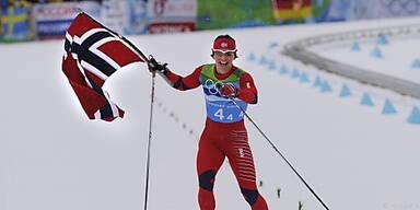 Marit Björgen holte dritte Goldene in Vancouver