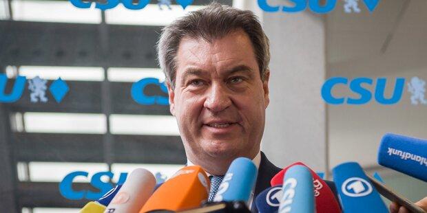 Söder warnt SPÖ vor Ja zu Misstrauensvotum