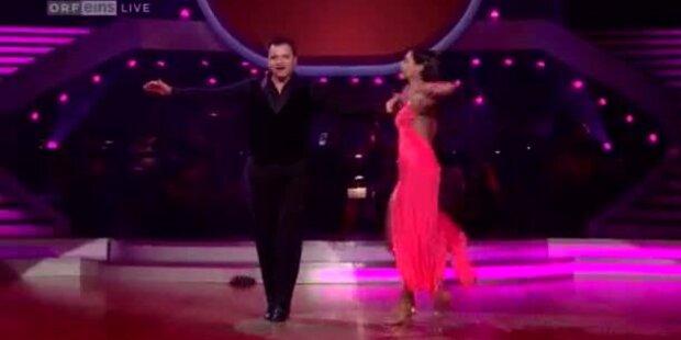 Markus Wohlfahrt tanzt einen Quickstepp