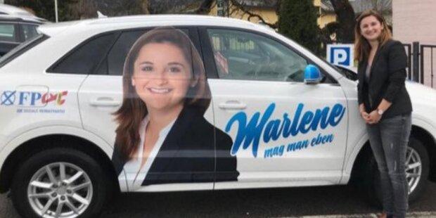 Wirbel um Wahlkampf-Auto der FPÖ