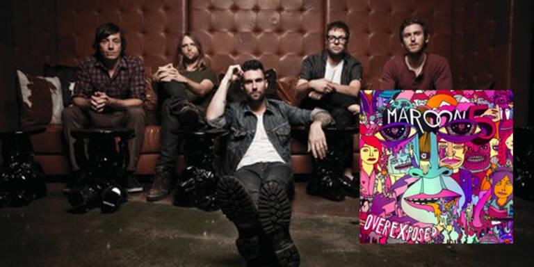 """Die fünf amerikanischen Rocker von Maroon 5 bringen am 22. Juni ihre neue Platte """"Overexposed"""" auf den Markt und wollen damit an den Erfolg von """"Hands All Over"""" aus dem Jahr 2010 anknüpfen."""