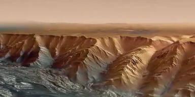 Spektakulär: Animation der Marsoberfläche