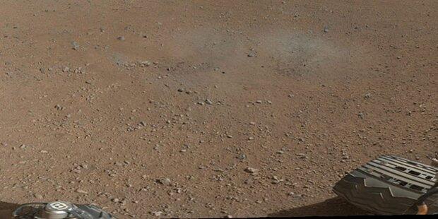 Jetzt in Farbe: Foto vom Mars
