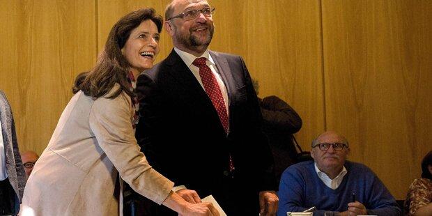 Schulz nach Urnengang: