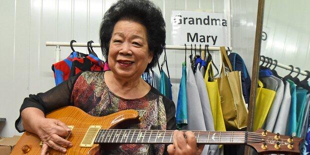 Gitarristin (81) fiebert großem Auftritt entgegen