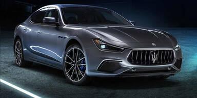 Maserati Ghibli Hybrid setzt auf einen 4-Zylinder