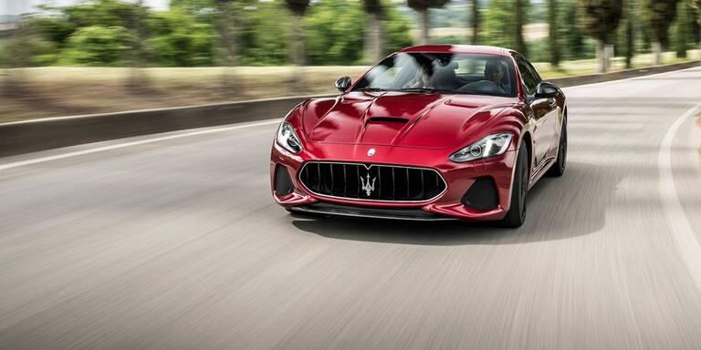 Maserati frischt GranCabrio & GranTurismo auf