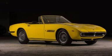 Rekordpreis für einen Maserati bezahlt