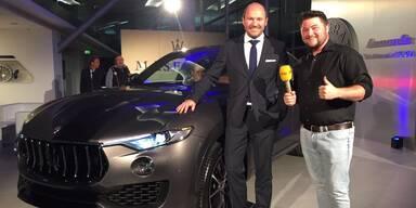 Neuer Maserati Levante in Salzburg vorgestellt