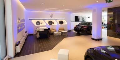 Neuer Maserati-Standort in Wien