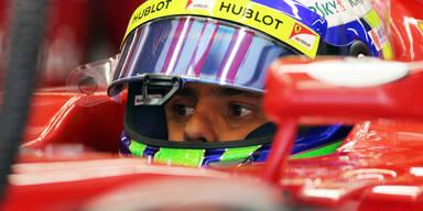 Bestzeit für Massa, Vettel fährt hinterher