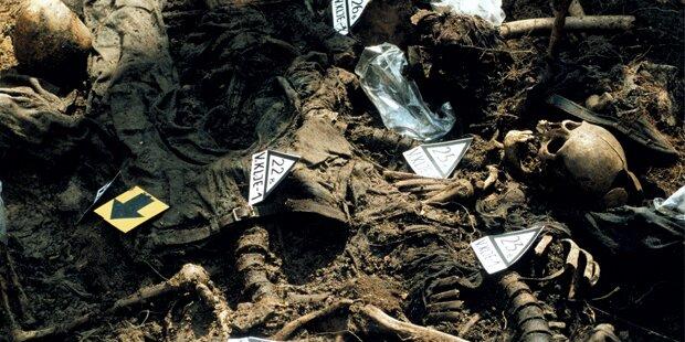 Massengrab: 17 Leichen entdeckt