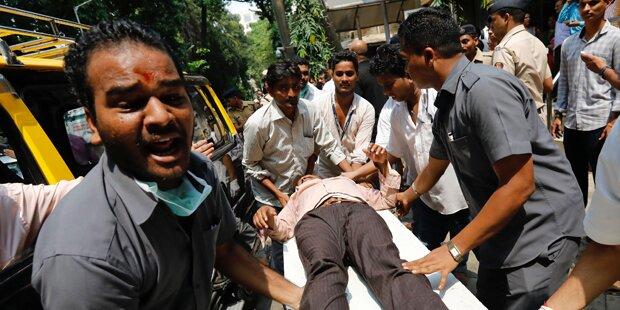 Massenpanik in Mumbai - Mindestens 22 Tote