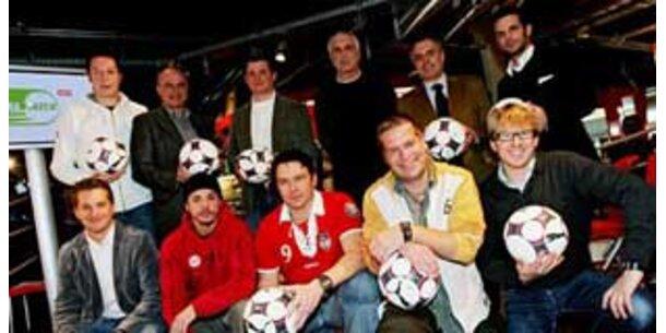 Krankl trainiert Austria-Team