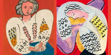 Matisse Schau im Centre Pompidou