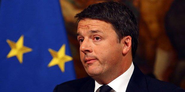 Wahlschlappe: Matteo Renzi tritt zurück