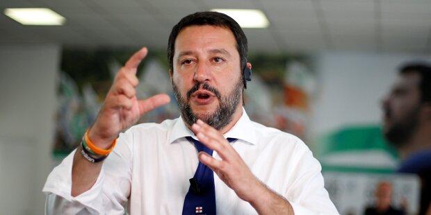 Lega Nord-Chef plant Flüchtlings-Initiative mit Strache