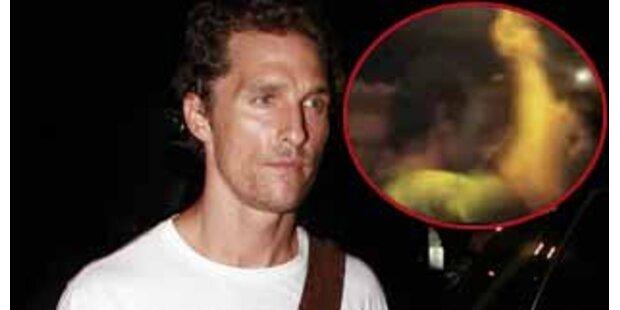 Matthew McConaughey lässt's ordentlich krachen