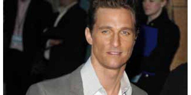 Matthew McConaugheys Vater starb beim Sex