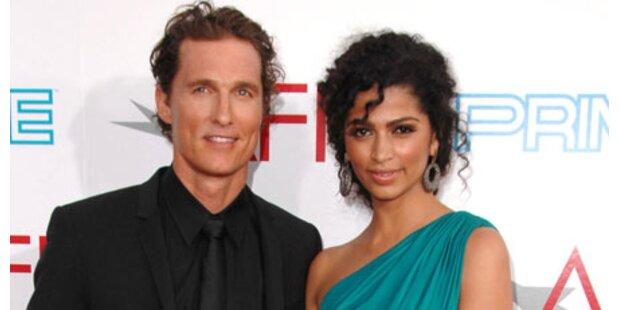 Eine Tochter für Matthew McConaughey
