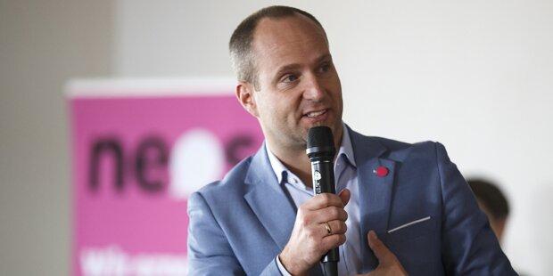 NEOS: Wahlhilfe aus Deutschland