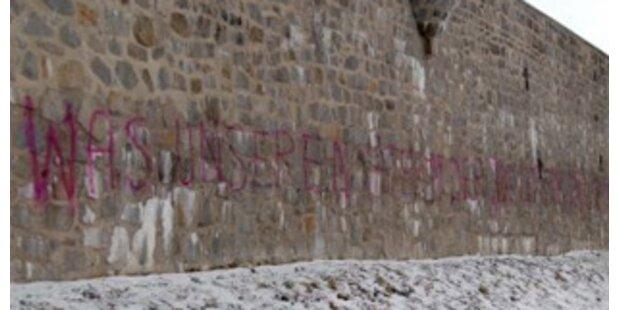 Empörung nach Schmieraktion in KZ Mauthausen